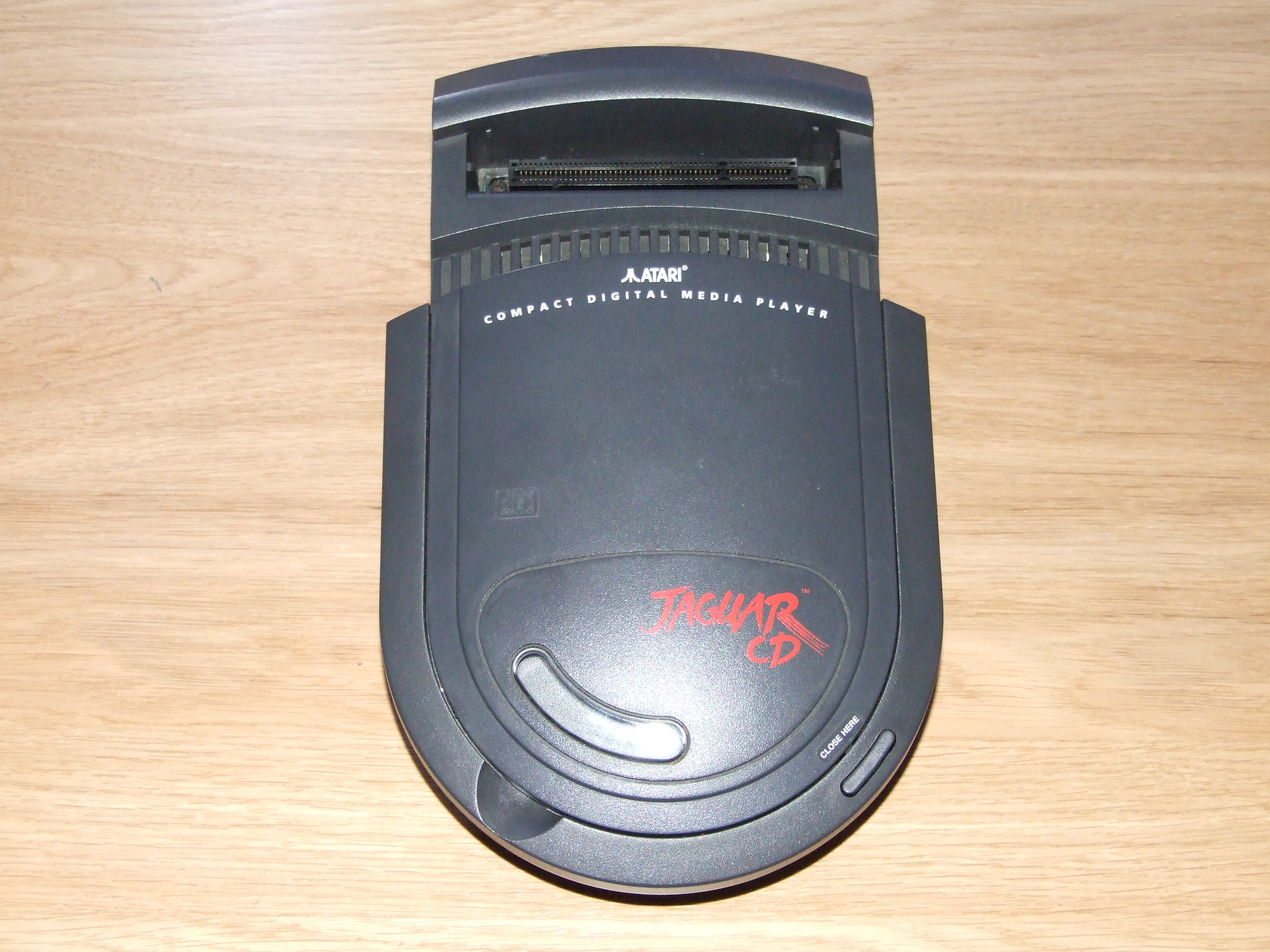 The Jaguar CD itself.