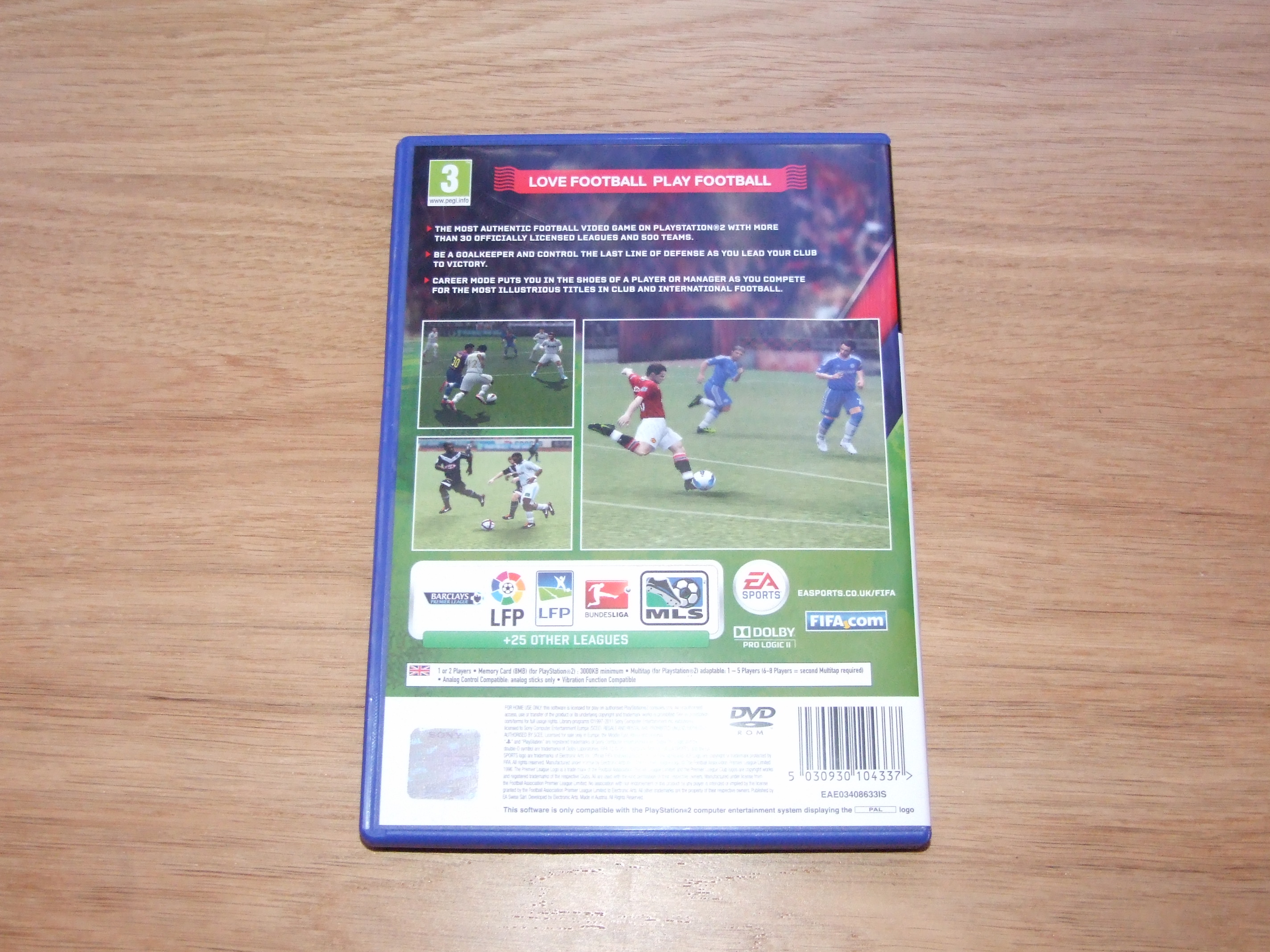 FIFA 12 [PS2] - Case - Back Cover