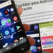 La Touchbar de la Macbook Pro llega a tu Android