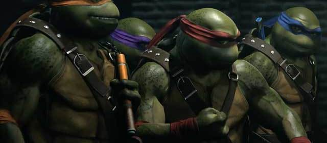 Las Tortugas Ninja llegarán a Injustice 2