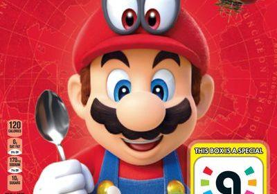 El cereal de Super Mario también será un amiibo