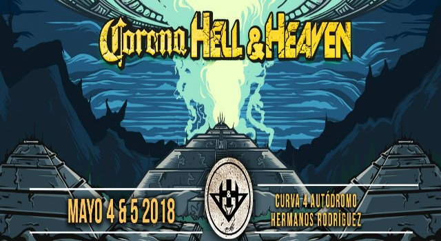 Éste es el cartel del Corona Hell & Heaven 2018
