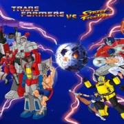 Street Fighter hace un crossover con Transformers