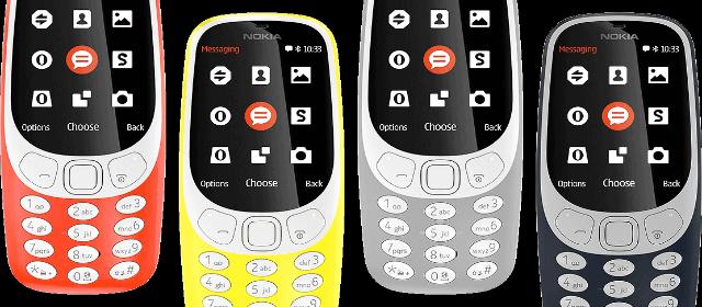 El emblemático Nokia 3310 está de regreso