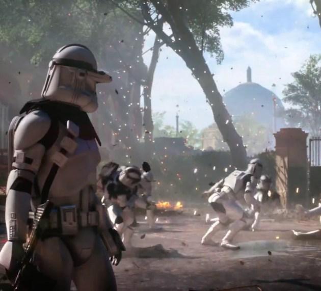 Contenido de The Last Jedi llega a Battlefront 2