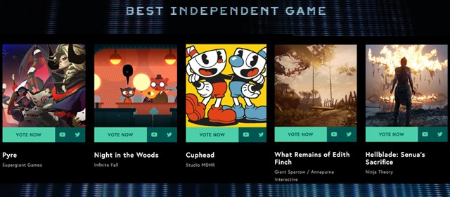 The Game Awards, guía de nominados a mejor juego independiente