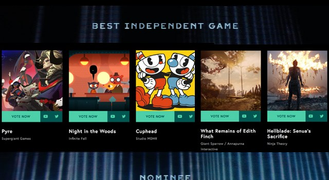 The Game Awards, guía de nominados a mejor juego independiente