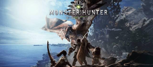 Monster Hunter: World ya está disponible y estrena tráiler