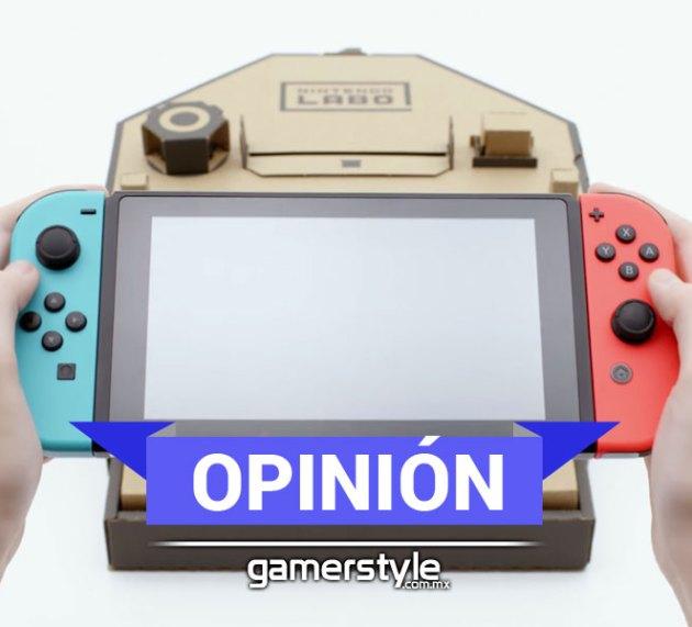 Nintendo Labo – Cuando Pensar no Cuesta Nada