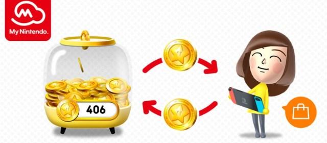 Próximamente podrán cambiarse los puntos Gold de My Nintendo en el Switch