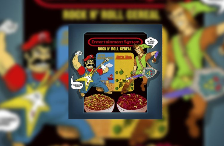 GamerStyle OST: Entertainment System – Rock N' Roll Cereal