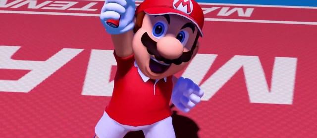 Se filtra portada de Mario Tennis Aces, Splatoon 2 y más