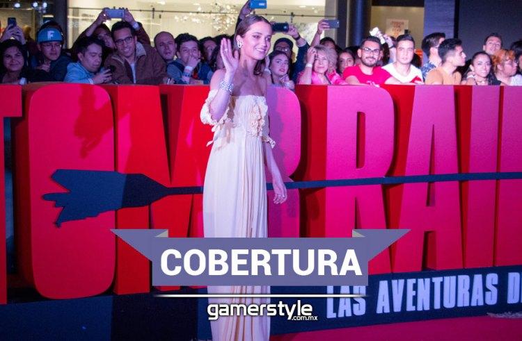 Cobertura: Alfombra Roja Tomb Raider