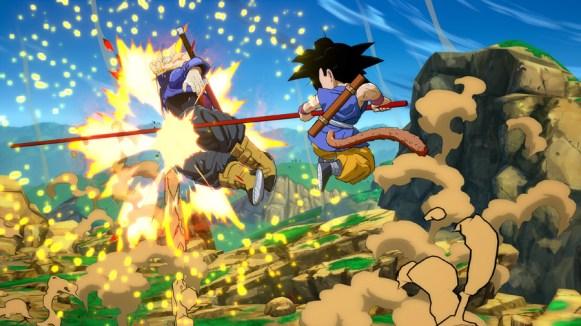 Dragon Ball FighterZ DLC Character Kid Goku GT Screen 5