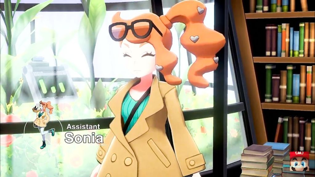 Pokemon Shield and Sword - Sonia