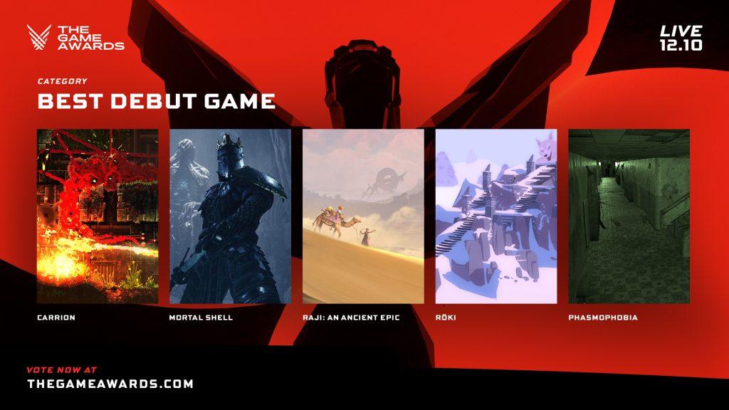 Mejor debut The Game Awards 2020