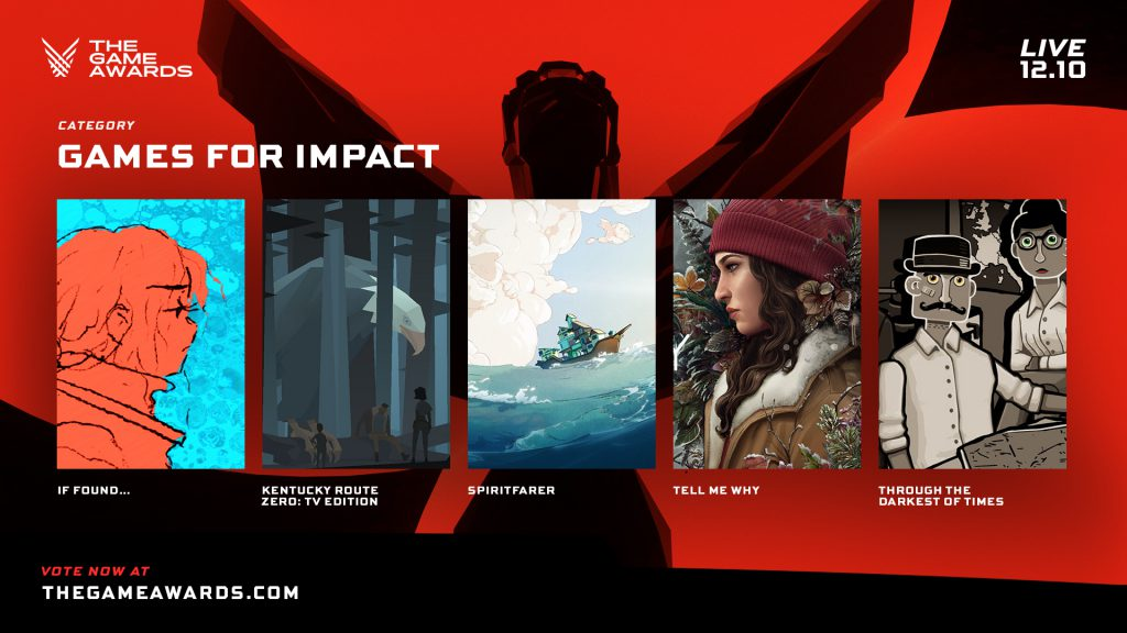 Games for Impact en The Game Awards 2020