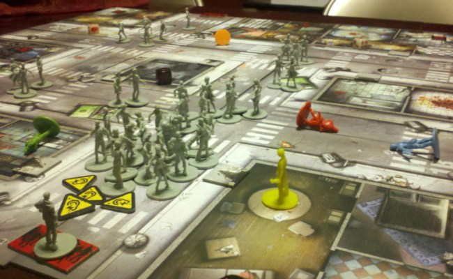 Review Board Game Zombicide Gamersunidos