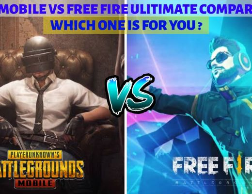 PUBG MOBILE VS FREE FIRE ULITIMATE COMPARISON WHICH ONE IS FOR YOU