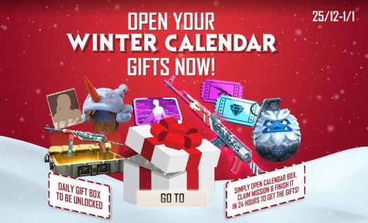 How to get free AK47 skin in Free Fire (Winterland AK47)