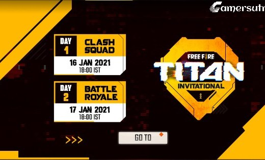 Free Fire Titan Invitational Tournament 2021 Full Details, the format, the schedule, and more