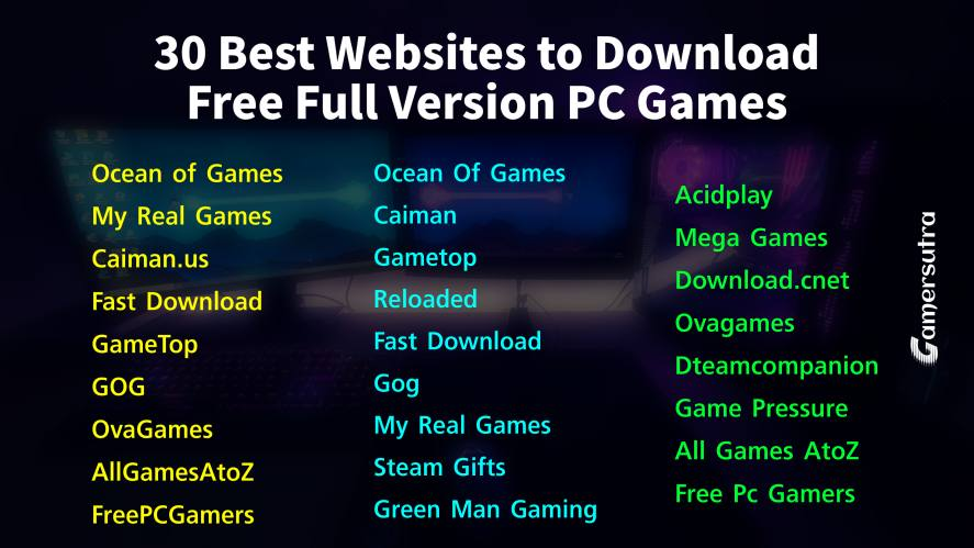 Top Website Of Pc Games Free Download full version for windows 10
