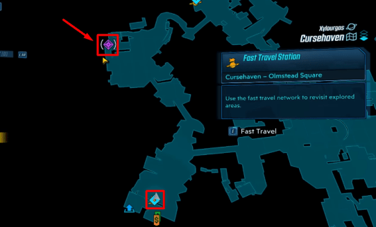 Unseen threat farm location map