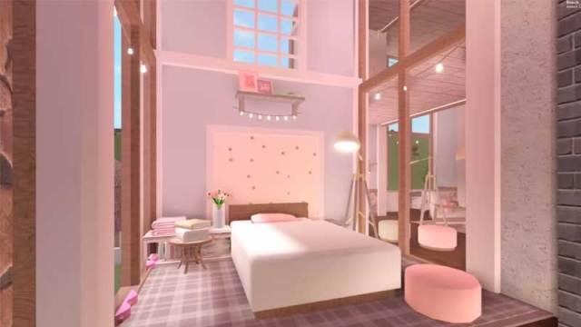 Summer Aesthetic Room Bloxburg Bedrooms