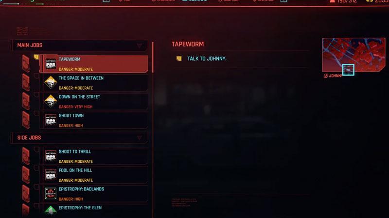 cyberpunk 2077'de tenya arayışı nasıl tamamlanır