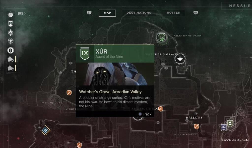 Destiny 2 Lokacja Xura