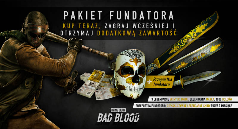 Dying Light Bad Blood Pakiet Fundatora