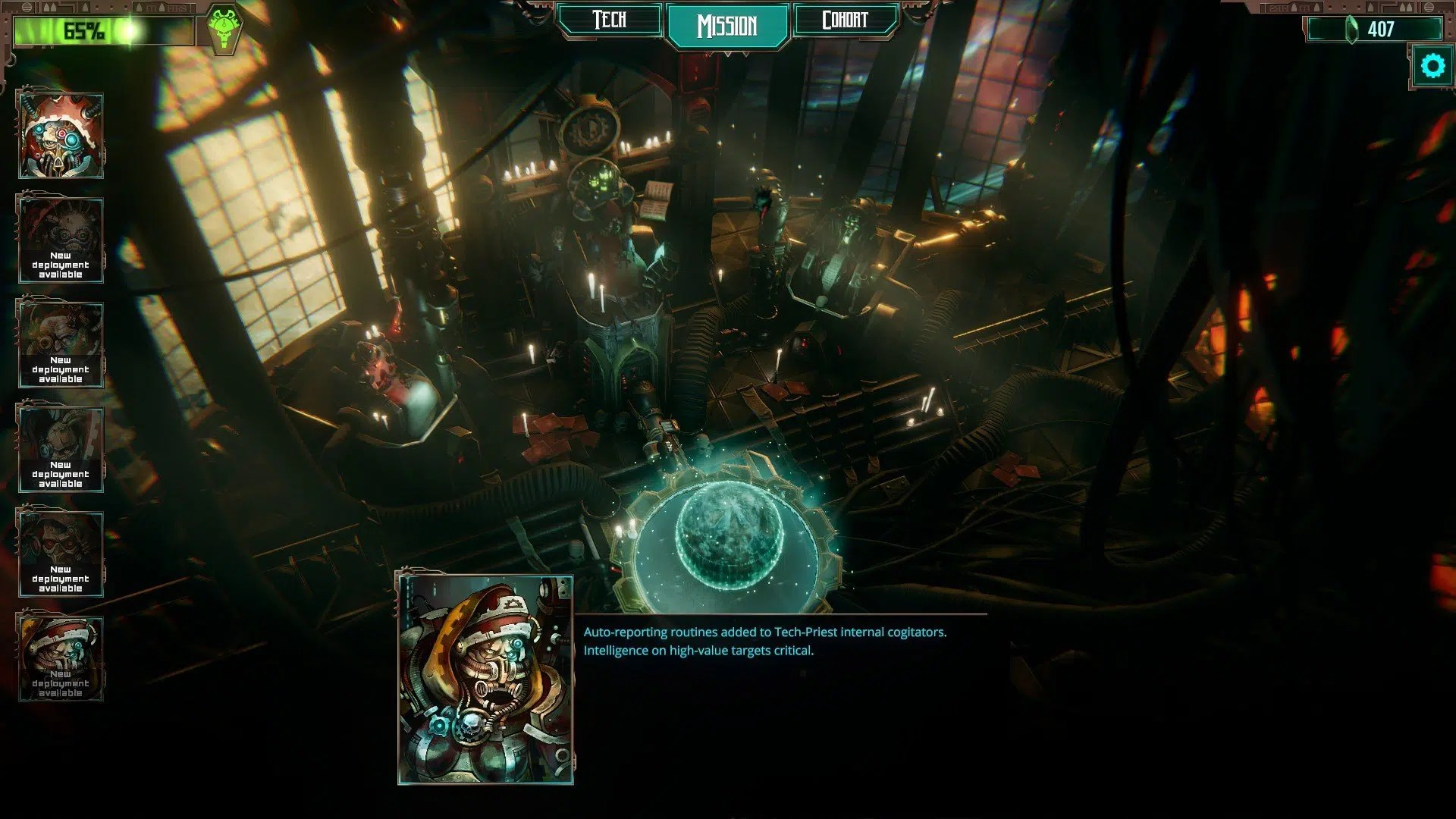 Warhammer 40,000 Mechanicus Screen6