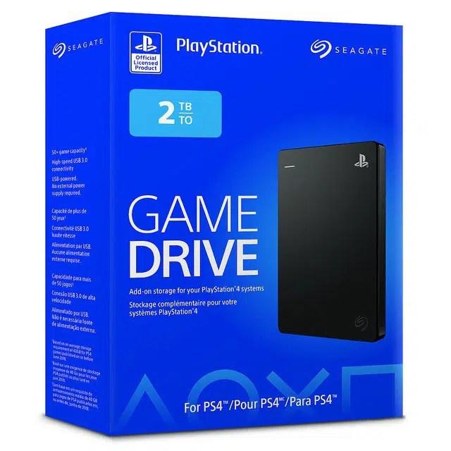 Seagate Game Drive 2tb Pudełko