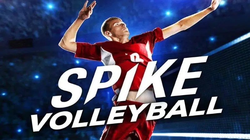 Spike Volleyball Art