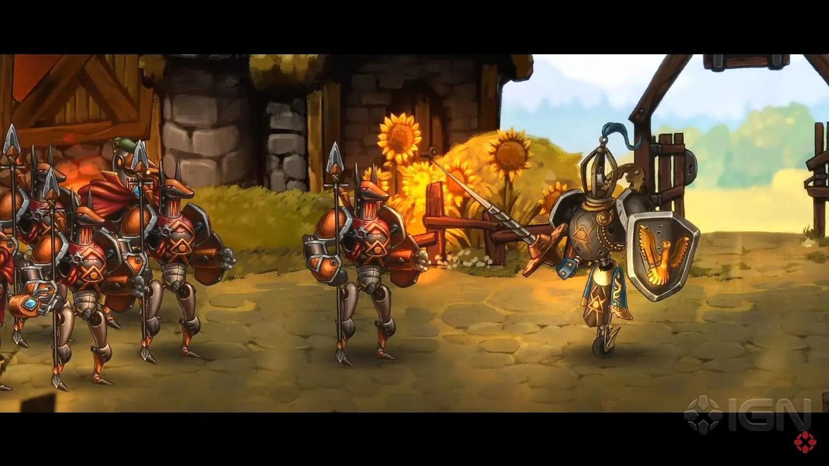 Steamworld Quest Hand Of Gilgamech Screen