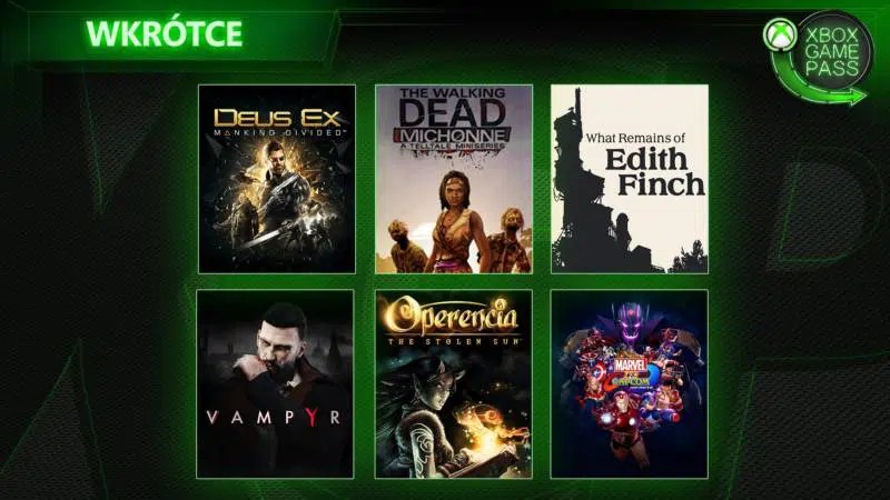 Xbox Game Pass Marzec 2019