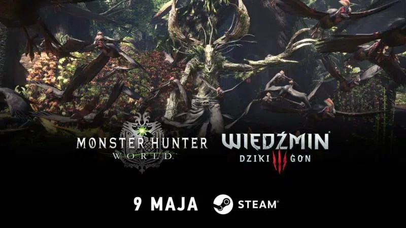Monster Hunter World X Wiedźmin