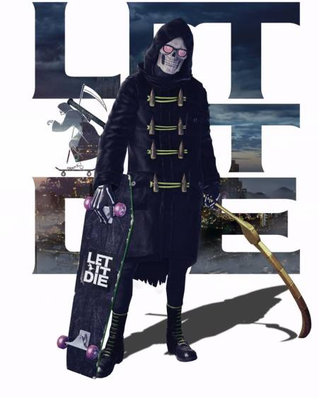 Let it die Welcome Asia