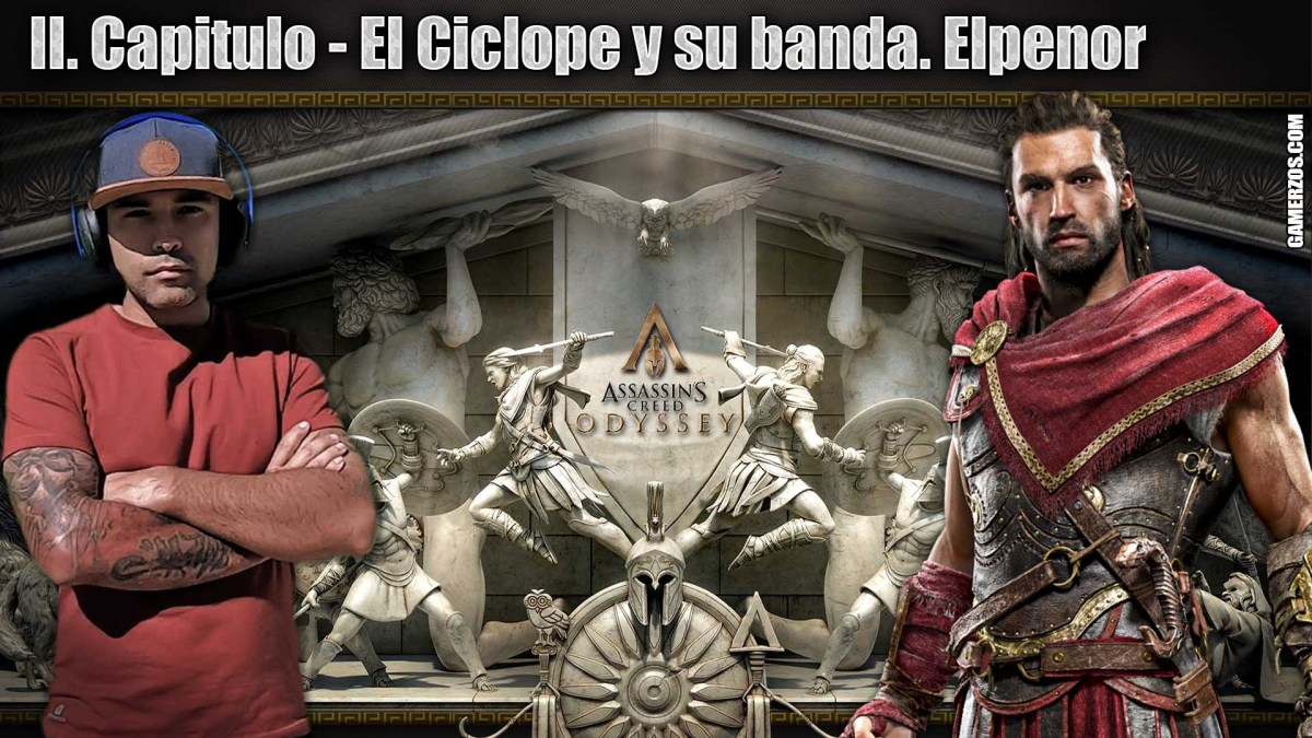 Assassin's creed odyssey El Ciclope y su banda. Elpenor