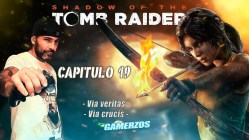 Shadow of the Tomb Raider gameplay español PS4 Via veritas Via crucis Capitulo 19-min