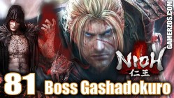 Nioh gameplay espanol ps4 Boss Gashadokuro