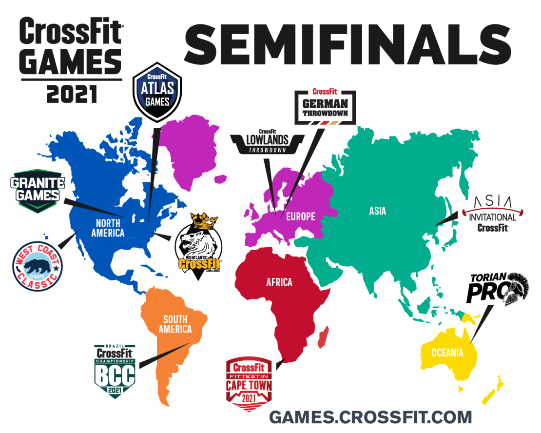 Semifinals Map