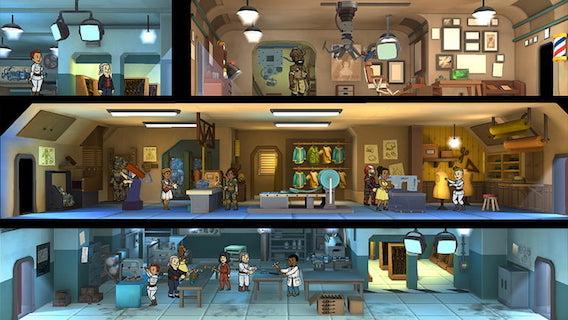 Fallout Shelter - игры на нинтендо свитч