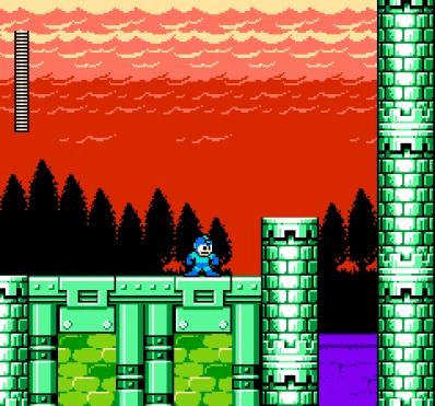 mega-man-6-nes-screenshot-knight-mans-stage
