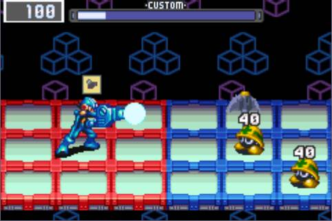 Mega Man Battle Network 3 Screenshot2