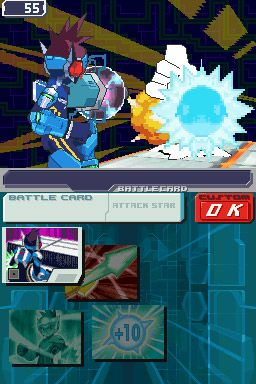 Mega Man Star Force 3 Screenshot 2