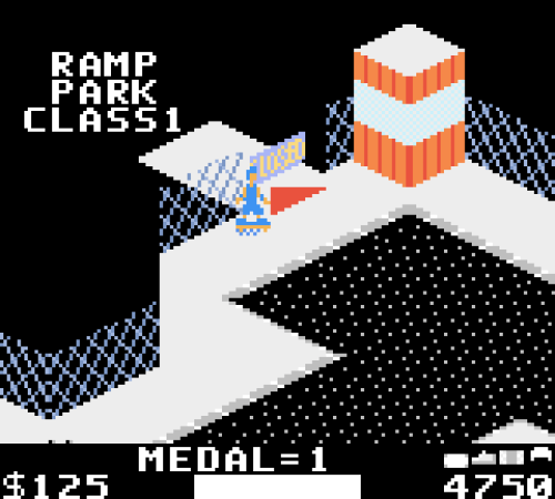720 Degrees Game Boy Color Screenshot