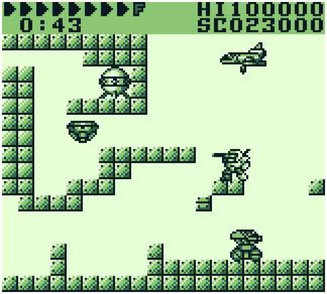 After Burst Game Boy Screenshot