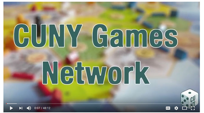 CUNY Games Network gamecasting