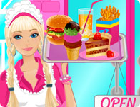 Barbie Ice Cream Parlor Cooking Games